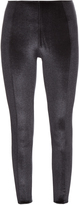 Lisa Marie Fernandez Karlie velvet performance leggings