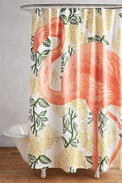 Thomas Paul Flamingo Shower Curtain