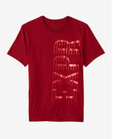 Express EXP shadow vertical graphic t-shirt