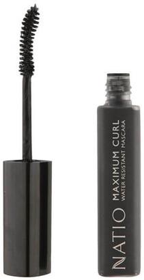 Natio Maximum Curl Water Resistant Mascara - Blackest Black (10ml)