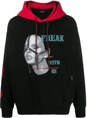 Marcelo Burlon County of Milan Freak printed hoodie