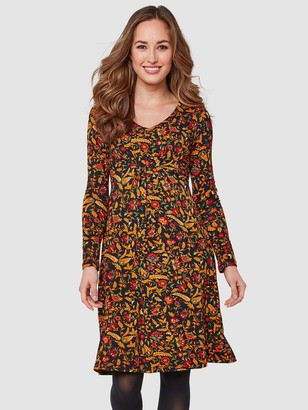Joe Browns September Sun Dress - Black/Multi