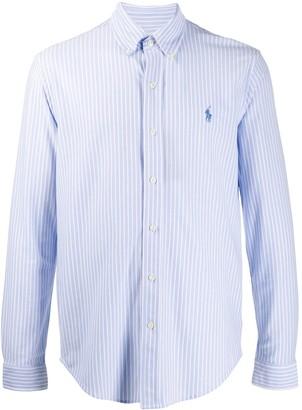 Polo Ralph Lauren Embroidered Logo Striped Shirt