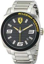 Ferrari Men's 0830168 Aero Evo Analog Display Quartz Silver Watch