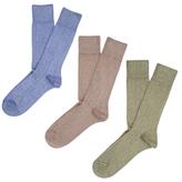 Etiquette Clothiers Classic Ribs Socks (3 PK)