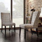 HomeVance Park Row 2-piece Hexagonal Wingback Chair Set