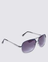 M&S Collection Square Aviator Sunglasses