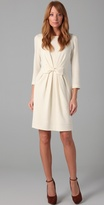 Milly Sidney 3/4 Sleeve Bow Dress
