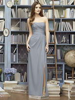 Lela Rose LR221 Dress In Platinum
