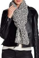 Rag & Bone Sandra Wrap Knit Wool Blend Scarf