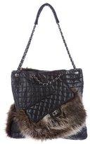 Chanel Karl's Cabas Fantasy Fur Tote
