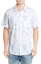 O'Neill Men's Aloha Classic Fit Short Sleeve Print Sport Shirt