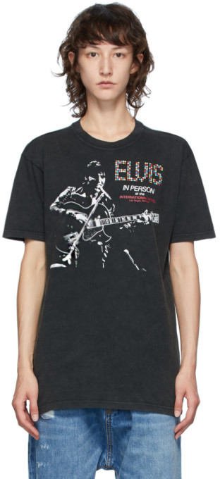 R 13 Black Elvis In Person Curtis T-Shirt