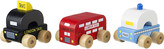 Orange Tree Toys First wooden London vehicle set