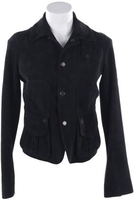Ralph Lauren Purple Label Black Leather Jackets
