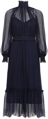 Zimmermann Glassy Rouleaux Swing Dress