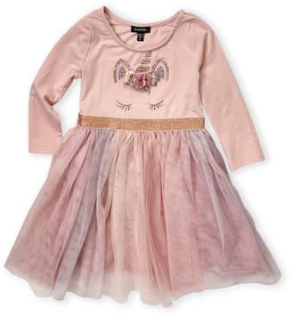 Zunie Girls 4-6x) Pink Unicorn Tulle A-line Dress