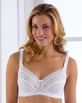 Miss Mary Of Sweden Miss Mary Full Cup Wired White Bra