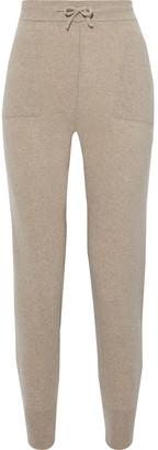 Iris & Ink Jessica Cashmere And Merino Wool-blend Track Pants