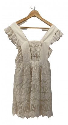 Self-Portrait Ecru Lace Dresses