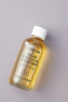 YOUTH TO THE PEOPLE Kombucha + 11% AHA Exfoliation Power Toner By in Yellow Size ALL