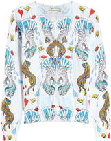 Mary Katrantzou Printed Cotton Cardigan