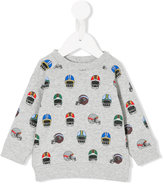 Stella McCartney Helmet print sweatshirt