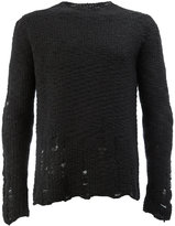 Song For The Mute distressed jumper