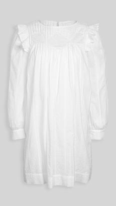 La Vie Rebecca Taylor Long Sleeve Kelsey Clip Dress