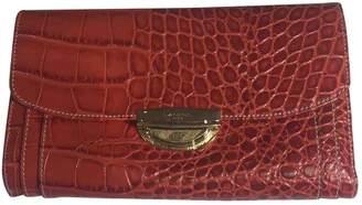 Lancel Adjani Red Patent leather Wallets