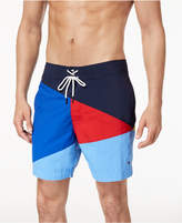 Tommy Hilfiger Men's Searay Colorblocked Swim Trunks