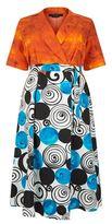 Marina Rinaldi Printed Kaftan Dress