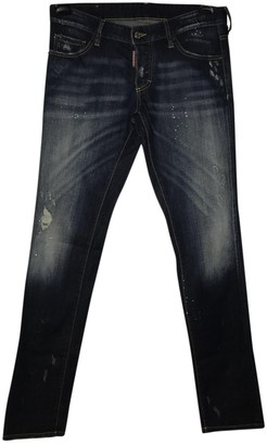 DSQUARED2 Blue Polyester Jeans