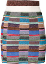 Missoni intarsia knit skirt