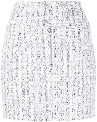 IRO Tweed Mini Skirt