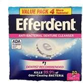 Efferdent Denture Cleanser Tablets, 20 Count