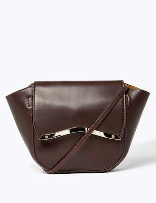 AutographMarks and Spencer Leather Cross Body Bag