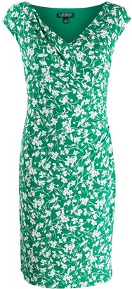 Lauren Ralph Lauren Floral Print Bodycon Dress