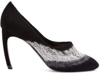 Nicholas Kirkwood Kim Felted Wool Pumps - Womens - Black