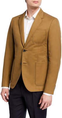 Valentino Patch-Pocket Sport Jacket