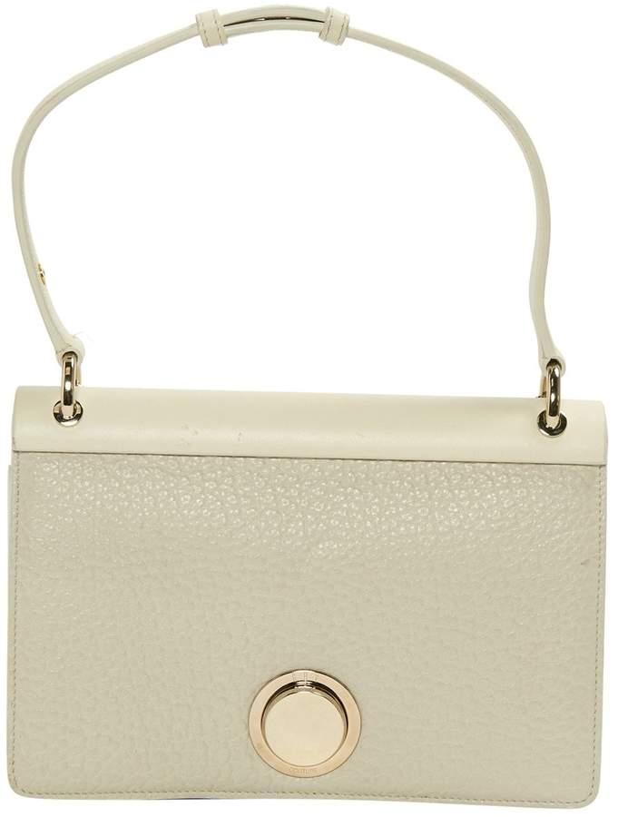 Giambattista Valli White Leather Handbag