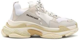 Balenciaga Triple S Low-top Trainers - Mens - White