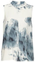 B. Young Helima Watercolour Sleeveless Blouse