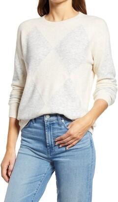Halogen Argyle Sweater