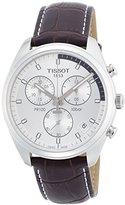 Tissot Men's T1014171603100 Analog Display Quartz Brown Watch