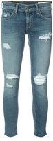 Rag & Bone Jean - skinny cropped jeans - women - Cotton/Polyurethane - 26
