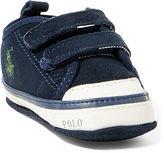 Ralph Lauren Carlisle III Suede EZ Sneaker