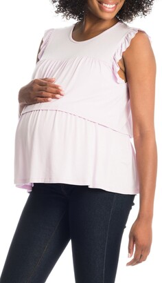 Everly Grey Valentina Maternity/Nursing Top
