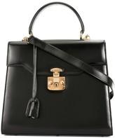 Gucci Pre Owned Lady Lock two-way handbag