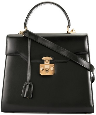 Gucci Pre-Owned Lady Lock two-way handbag